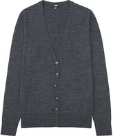 Uniqlo Women's Extra Fine Merino Wool V-Neck Cardigan