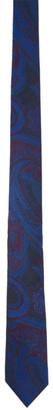 Etro Navy Paisley Tie