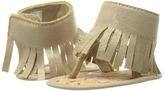 Baby Deer Shimmer Thong with Fringe Girls Shoes