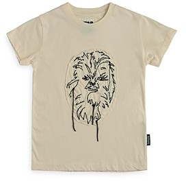 Nununu Unisex Star Wars Embroidered Chewbacca Tee - Big Kid
