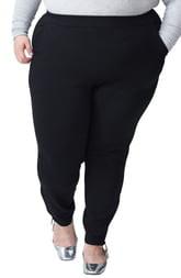 Universal Standard Moro Zip Cuff Pocket Ponte Pants