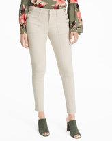 White House Black Market Button Detail Skimmer Jeans