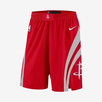 Nike Men's NBA Shorts Houston Rockets Icon Edition Swingman