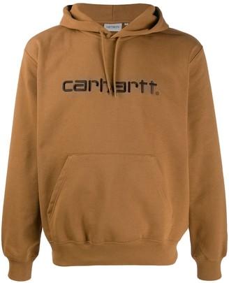 Carhartt WIP embroidered logo hoodie