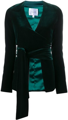 Galvan Winter Sun velvet-effect jacket
