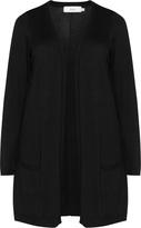 Zizzi Plus Size Fine knit open front cardigan