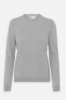 Colorful Standard - Womens Classic Merino Crew Jumper In Heather Grey - L