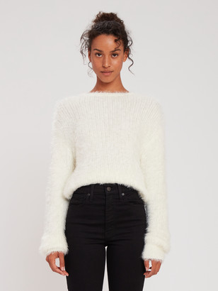 J.o.a. Embellished Rib Sweater