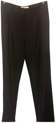 Michael Kors Black Wool Trousers