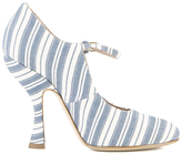 Vivienne Westwood Women's Mary Jane Heeled Shoes Cream/Navy