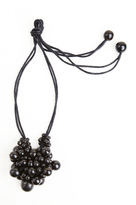 Josie Natori Horn Cluster Long Necklace