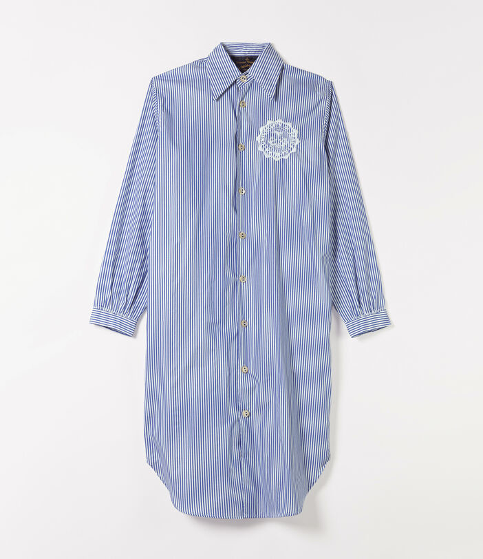 Vivienne Westwood Shirt Dress White/Blue