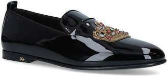 Dolce & Gabbana Vatacano Crown Slippers