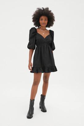 Rahi Jules Surplice Babydoll Mini Dress
