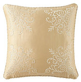 Waterford Lynath Bead-Embroidered Satin Square Pillow