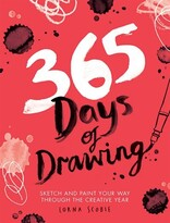 Lorna Scobie 365 Days Of Drawing: Sketch And Paint Your Way Through The Creative Year