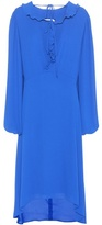 Balenciaga Swing Collar Frill dress