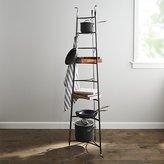 Crate & Barrel Enclume ® Standing 8-Tier Pot Rack
