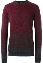 Roberto Collina flocked crew neck sweater