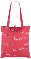 Radley Love Fabric Foldaway Shopper Bag