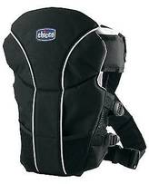 Chicco UltraSoft®; 2-Way Baby Carrier - Black