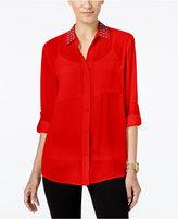 MICHAEL Michael Kors Embellished Shirt