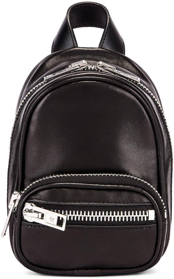 Alexander Wang Attica Soft Mini Backpack in Black   FWRD