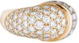 Harry Winston 18K Mixed Cut Diamond Ring