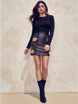 GUESS by Marciano Women's Hayden Faux-Leather Dress
