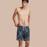Burberry Peony Rose Print Swim Shorts