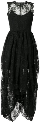 Alexander McQueen Corded Lace Layered Dress