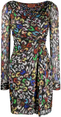 Missoni Abstract-Print Wrap Dress