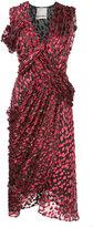 Jason Wu asymmetric wrap dress