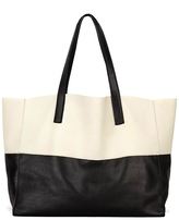 Caza Colorblock Leather Tote