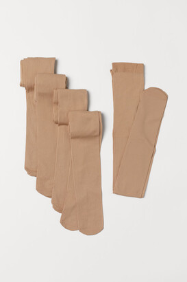 H&M 5-Pack Thin Tights
