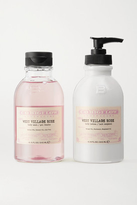 C.O. Bigelow Iconic Collection Body Wash And Lotion Set - West Village Rose