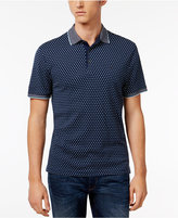 Michael Kors Men's Shadowed-Square Cotton Polo