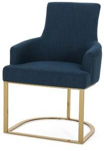 Zac Fabric Armchair Mercer41 Upholstery Color: Light Blush