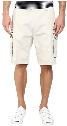 Nautica Ripstop Cargo Shorts (Off Black) Men's Shorts