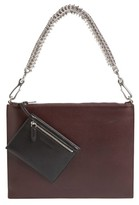 Alexander Wang Genesis Box Chain Leather Pouch - Brown