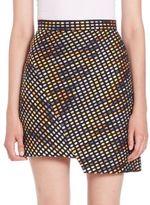 MSGM Asymmetrical Skirt