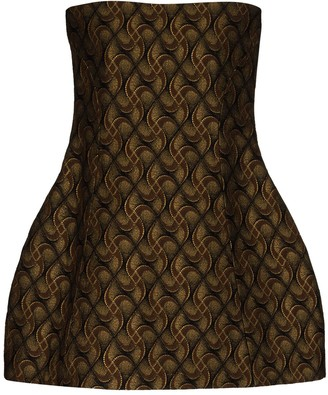 KHAITE Ginger jacquard mini dress