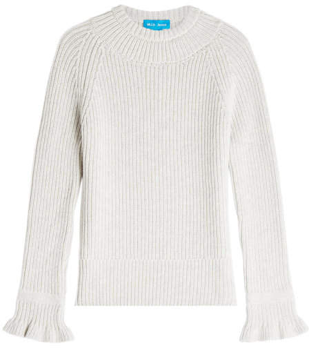 MiH Jeans Blake Wool Pullover with Cashmere