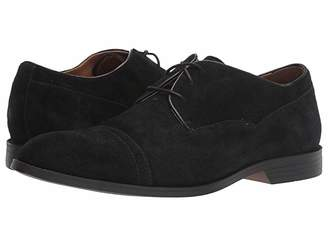 Stacy Adams Winslow Cap Toe Oxford (Black Suede) Men's Shoes