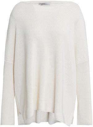 Gentry Portofino Gentryportofino Silk And Cotton-blend Sweater