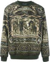 Dolce & Gabbana Carretto Siciliano print sweatshirt