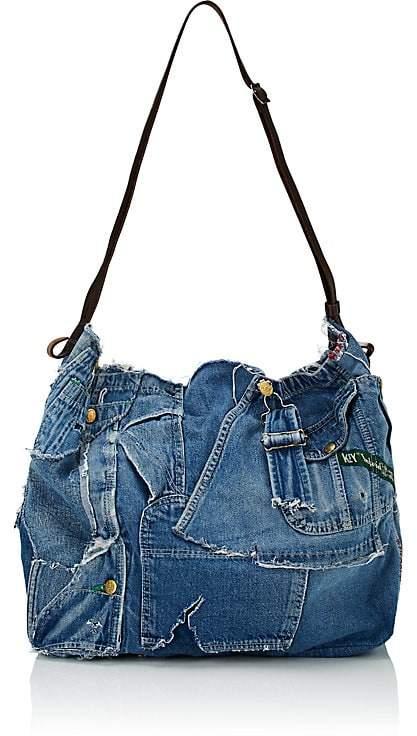 Greg Lauren Men's Patchwork Tote Bag