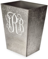Mike and Ally Mike & Ally Eos Monogram Straight Wastebasket with Liner