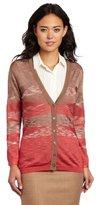 Jones New York Women's Petite V-Neck Cardigan Sweater