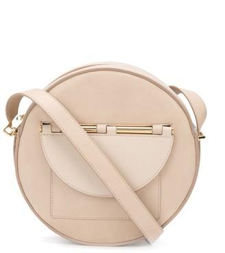 Calicanto Circular Leather Crossbody Bag